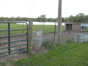 Property Photo: Holding Pen & Lake