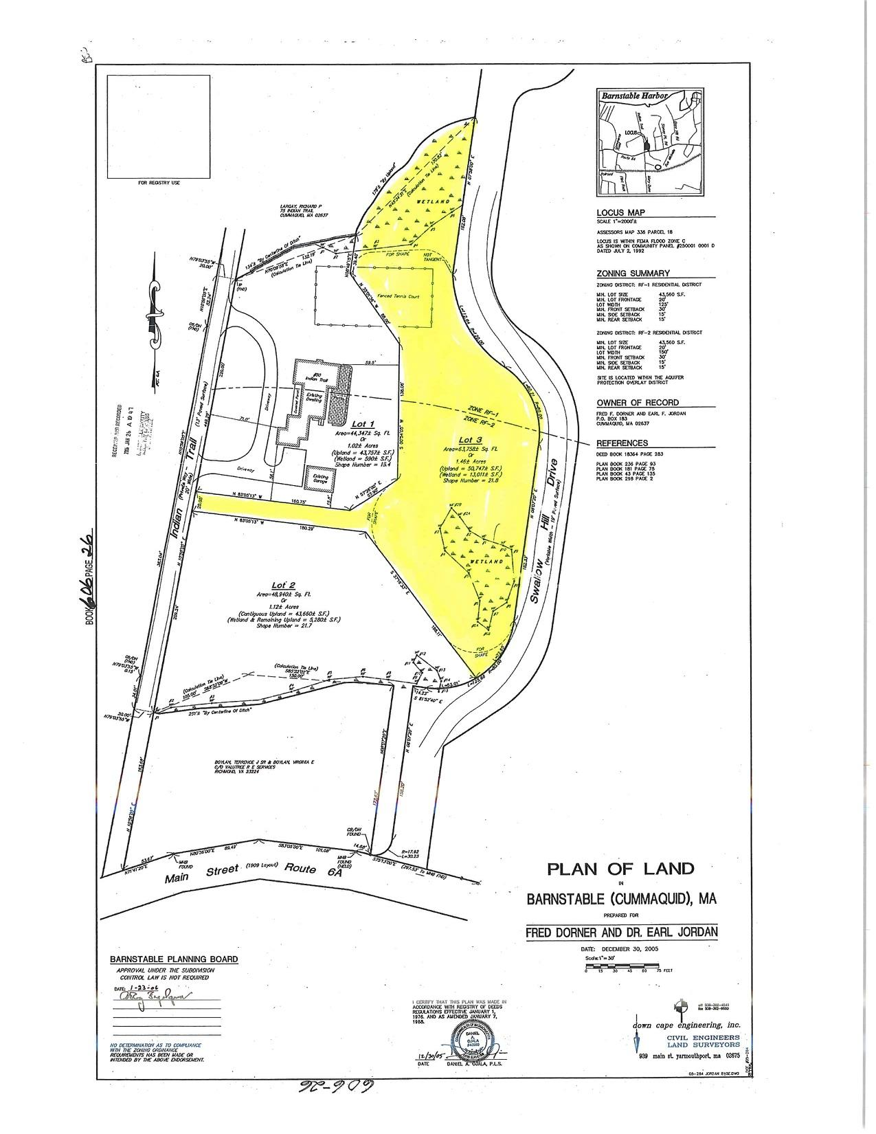 Lot 3 Indian Trail , Barnstable, MA, 02630
