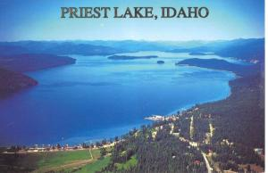 038_Priest Lake postcard facing NW