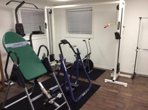 Lower Level Gym or Bedroom
