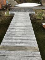 Dock and retaining Wall
