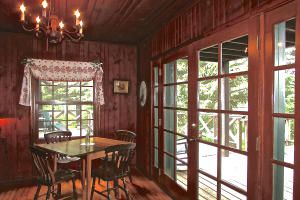 Dining Rm French Doors