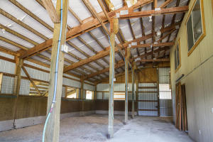 inside of main barn