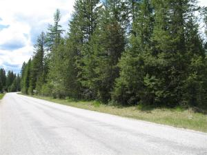 Paved county road frontage