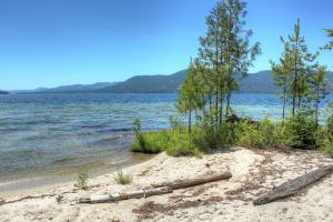 Natural white sand beaches