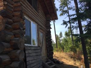 Side of cabin