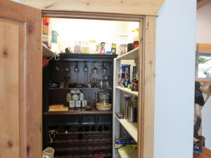 Pantry and wine bar