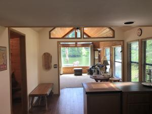 Kitchen to family room