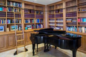 Reading and Music Room
