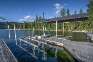 Two Solar Powered Boat Lifts