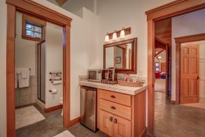 Guest Bath and Kitchenette