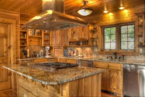 Spacious chef\'s kitchen