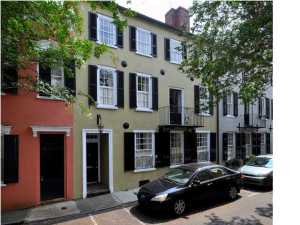 Home for Sale Tradd Street, South Of Broad, Downtown Charleston, SC