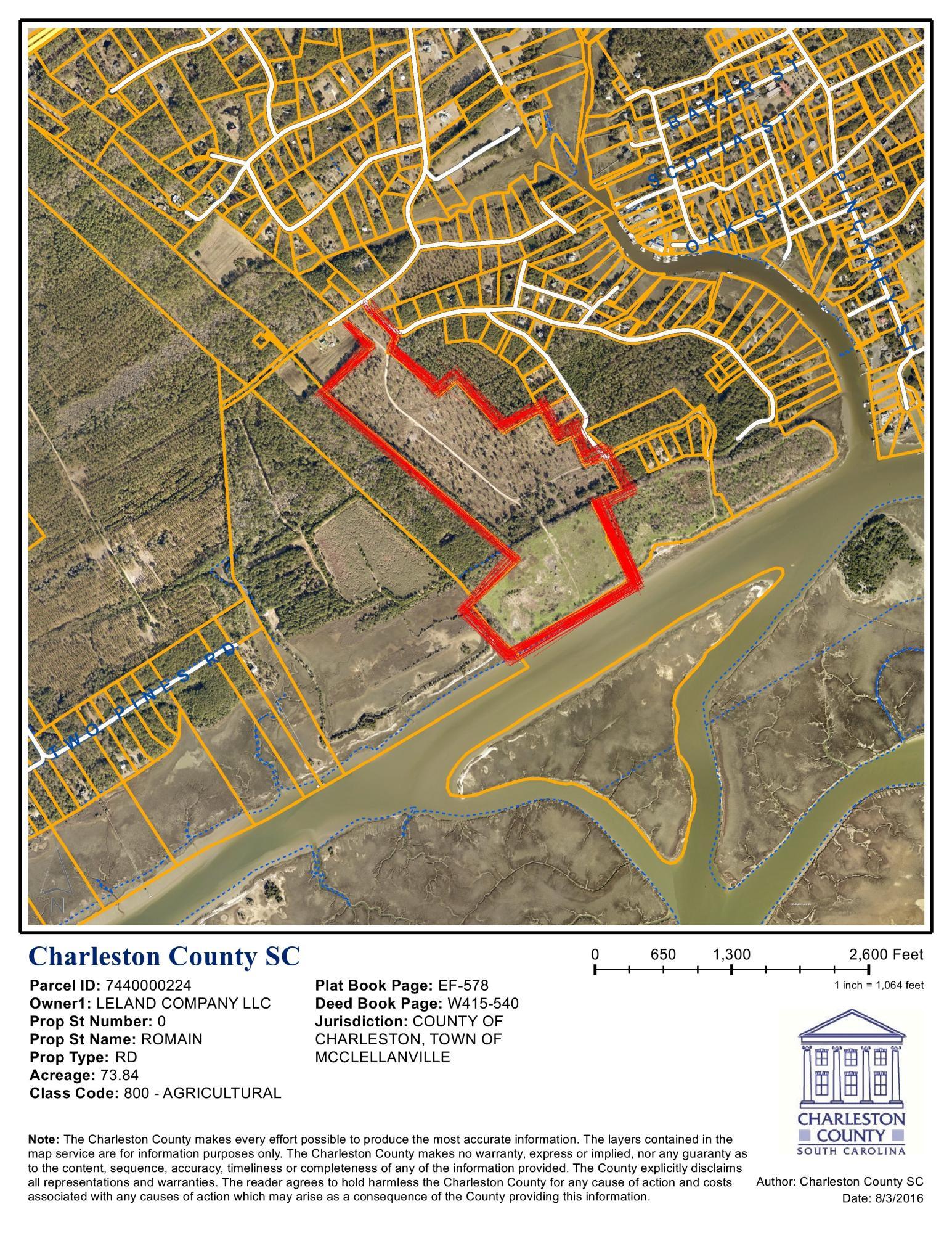 Mcclellanville Lots For Sale - 0 Kitt Hall, McClellanville, SC - 0