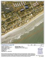 Waterfront homes in Folly Beach