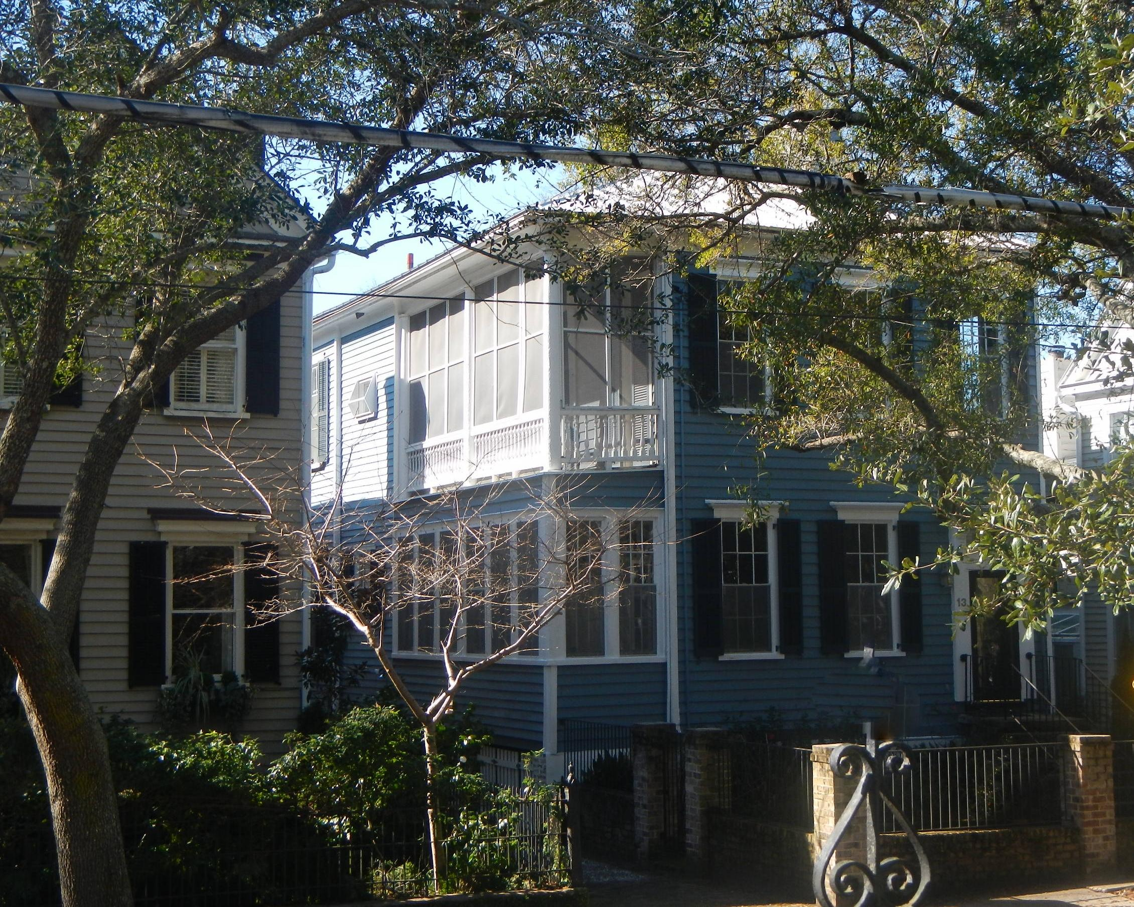 Home for sale 13 Logan Street, South Of Broad, Downtown Charleston, SC