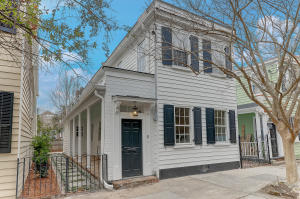 Home for Sale Trumbo Street, Harleston Village, Downtown Charleston, SC