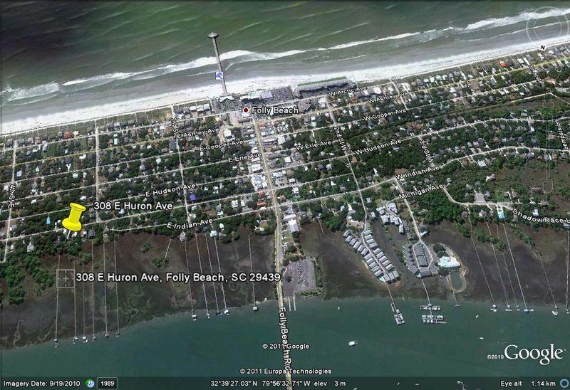 Photo of 308 E Huron Ave, Folly Beach, SC 29439