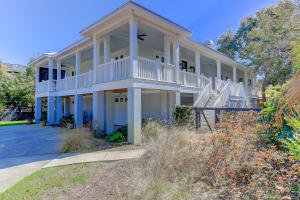 Waterfront homes in Sullivan's Island