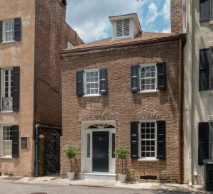 Home for Sale Elliott Street, South Of Broad, Downtown Charleston, SC