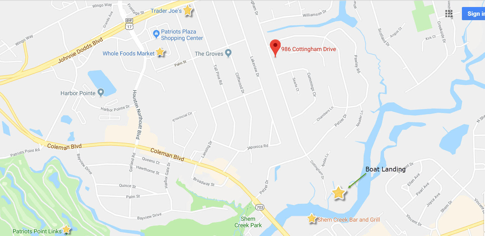 Cooper Estates Homes For Sale - 986 Cottingham, Mount Pleasant, SC - 1