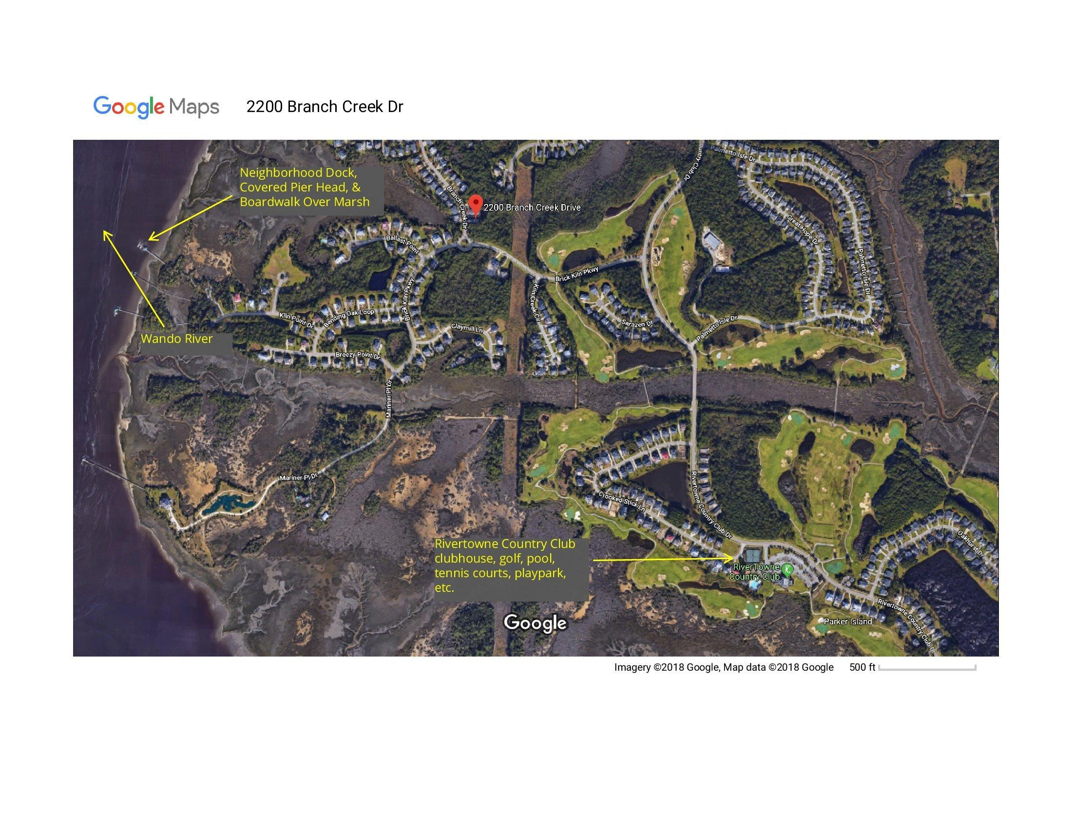 Rivertowne Country Club Homes For Sale - 2200 Branch Creek, Mount Pleasant, SC - 29