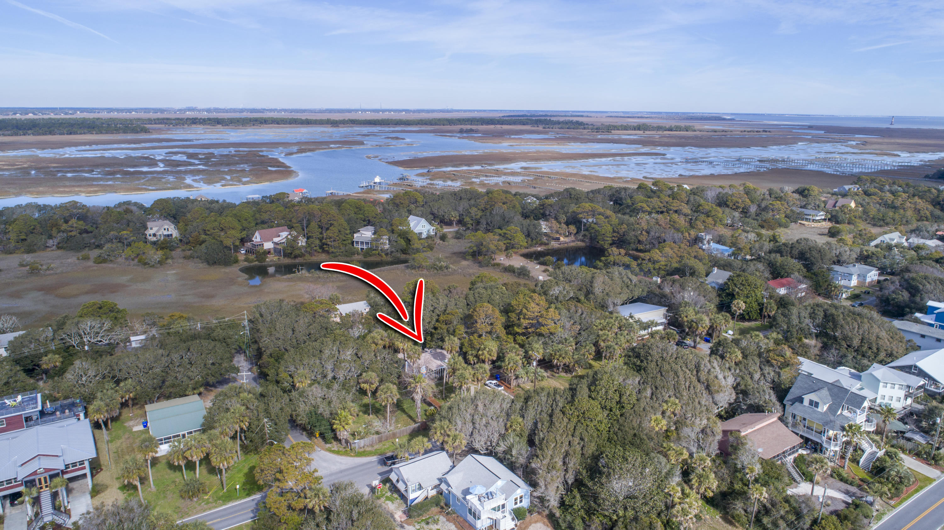 None Homes For Sale - 1204 E Ashley Ave, Folly Beach, SC - 21