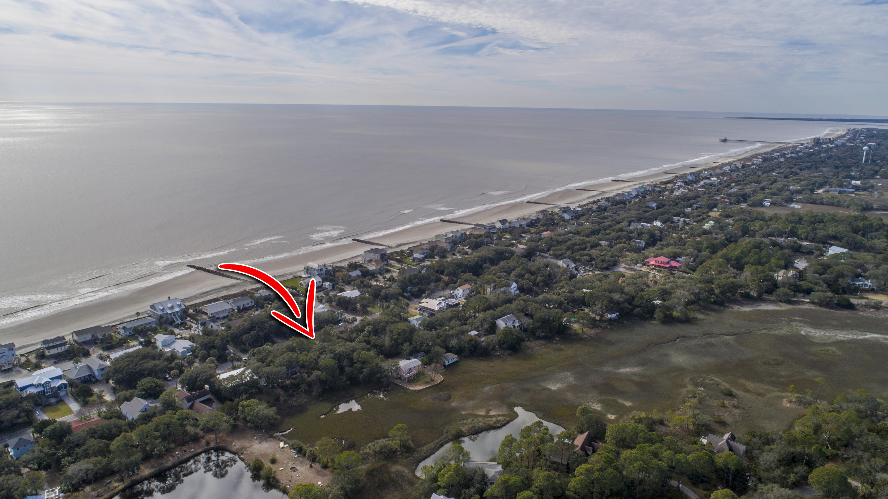None Homes For Sale - 1204 E Ashley Ave, Folly Beach, SC - 16