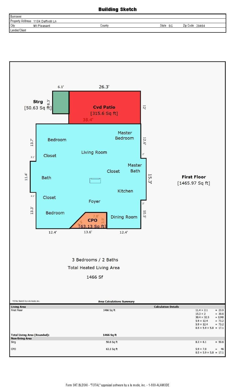 Snee Farm Homes For Sale - 1104 Daffodil, Mount Pleasant, SC - 32