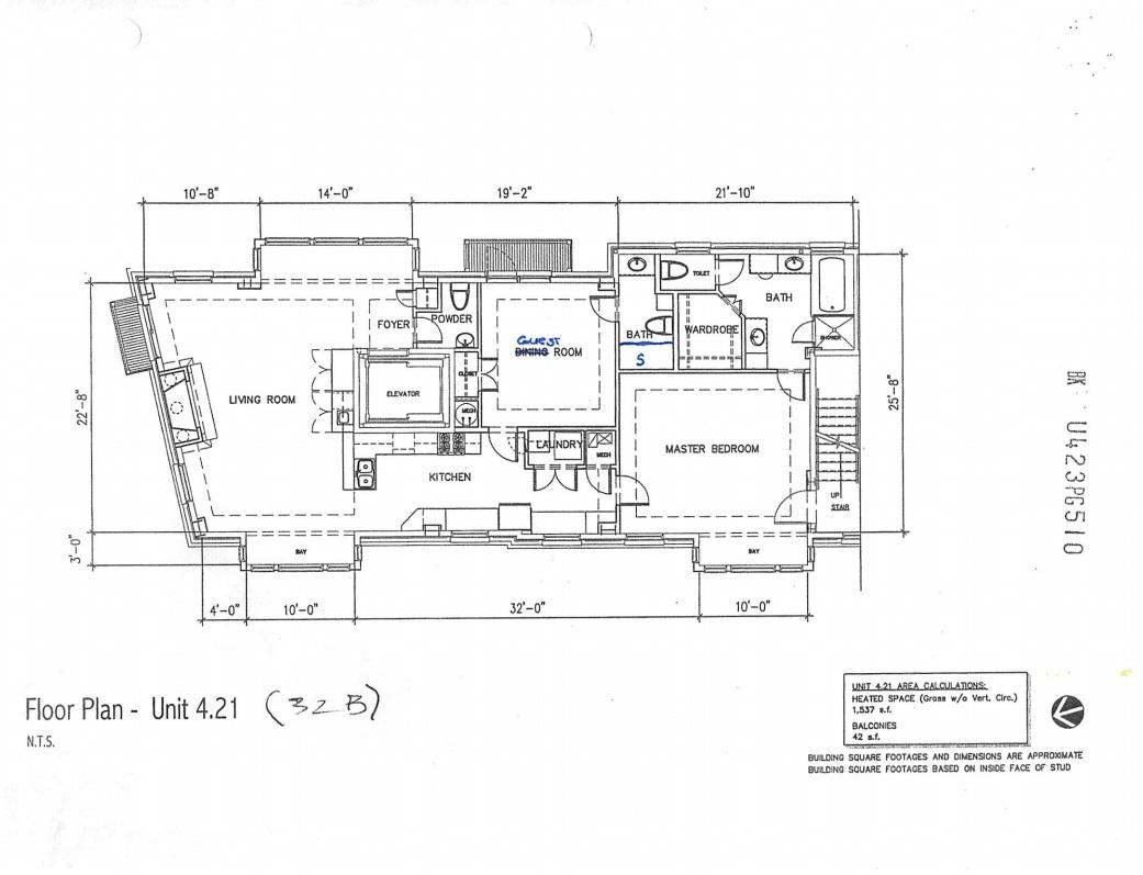 One Vendue Range Condos For Sale - 32 Prioleau, Charleston, SC - 11