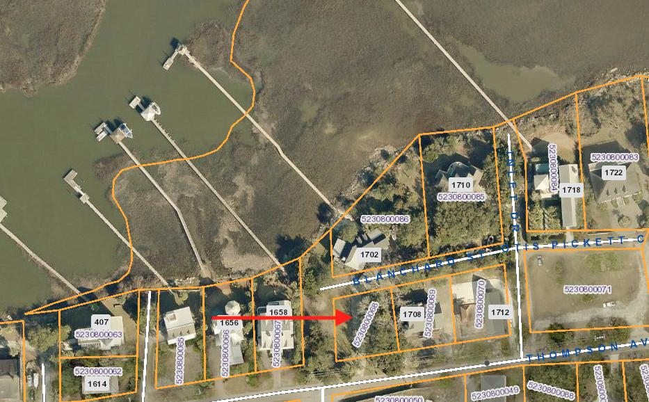 None Lots For Sale - 1710 Thompson, Sullivans Island, SC - 1