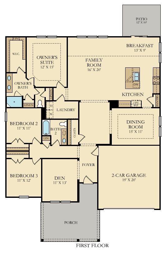 162 Garden Lily Lane, Summerville, 29485, 3 Bedrooms Bedrooms, ,2 BathroomsBathrooms,For Sale,Garden Lily,21016134