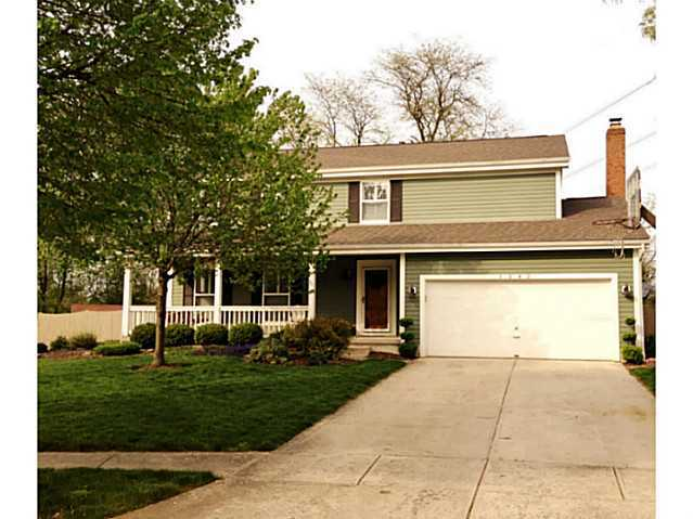 Photo of home for sale at 1242 Cloudstone Court, Grove City OH