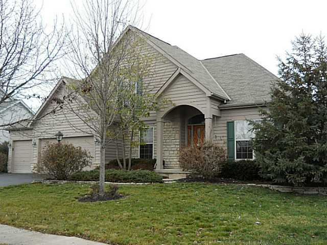 Photo of home for sale at 5972 Farmcreek Court, Hilliard OH