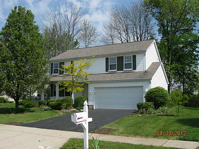 Photo of home for sale at 712 Moreno Drive, Reynoldsburg OH