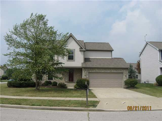 Photo of home for sale at 843 Gummer Court, Reynoldsburg OH