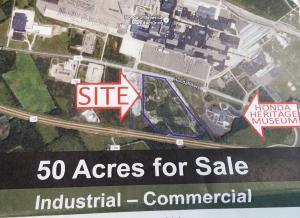 Land for Sale at 24455 Honda 24455 Honda Marysville, Ohio 43040 United States