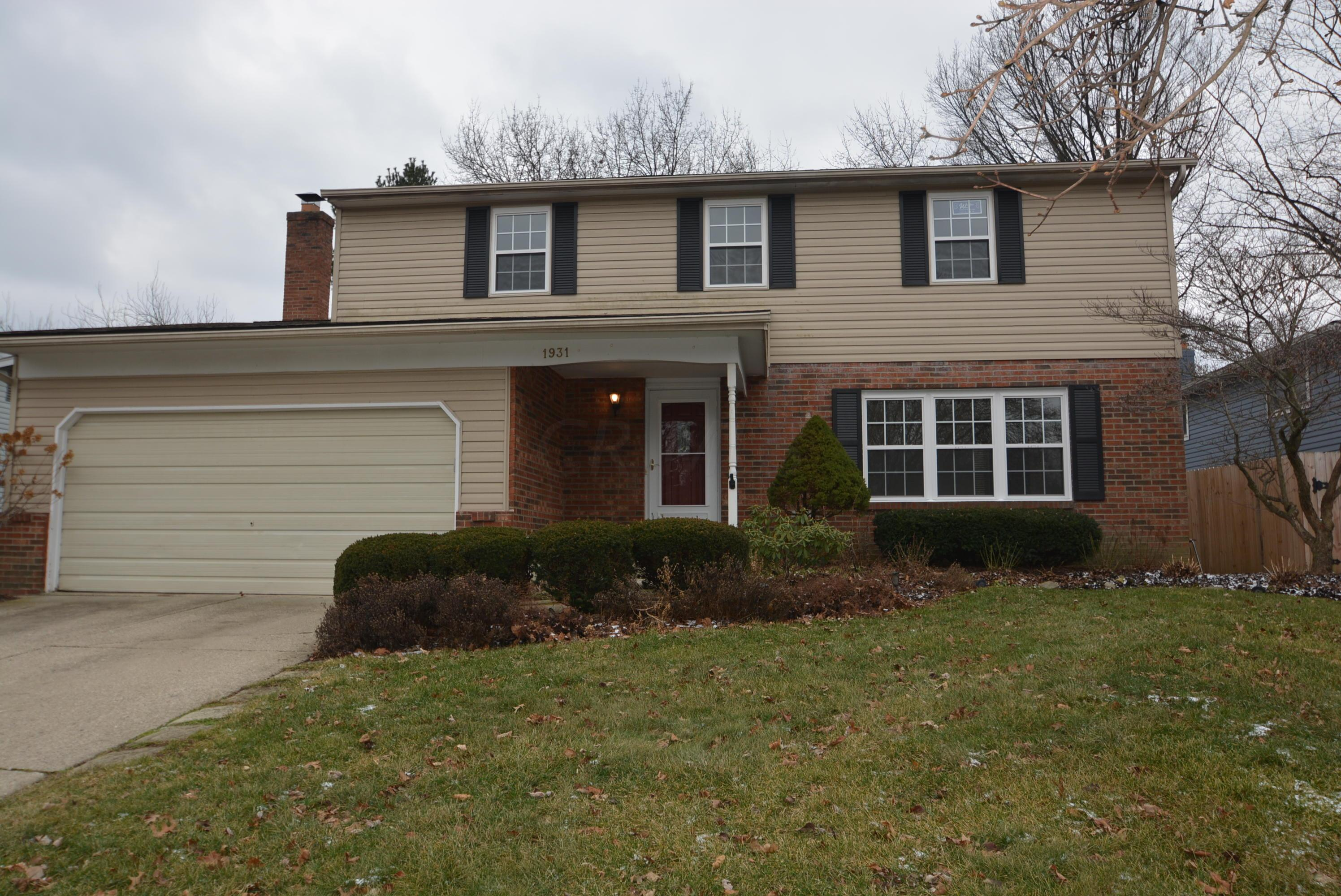Photo of home for sale at 1931 QUEENSBRIDGE Drive, Columbus OH