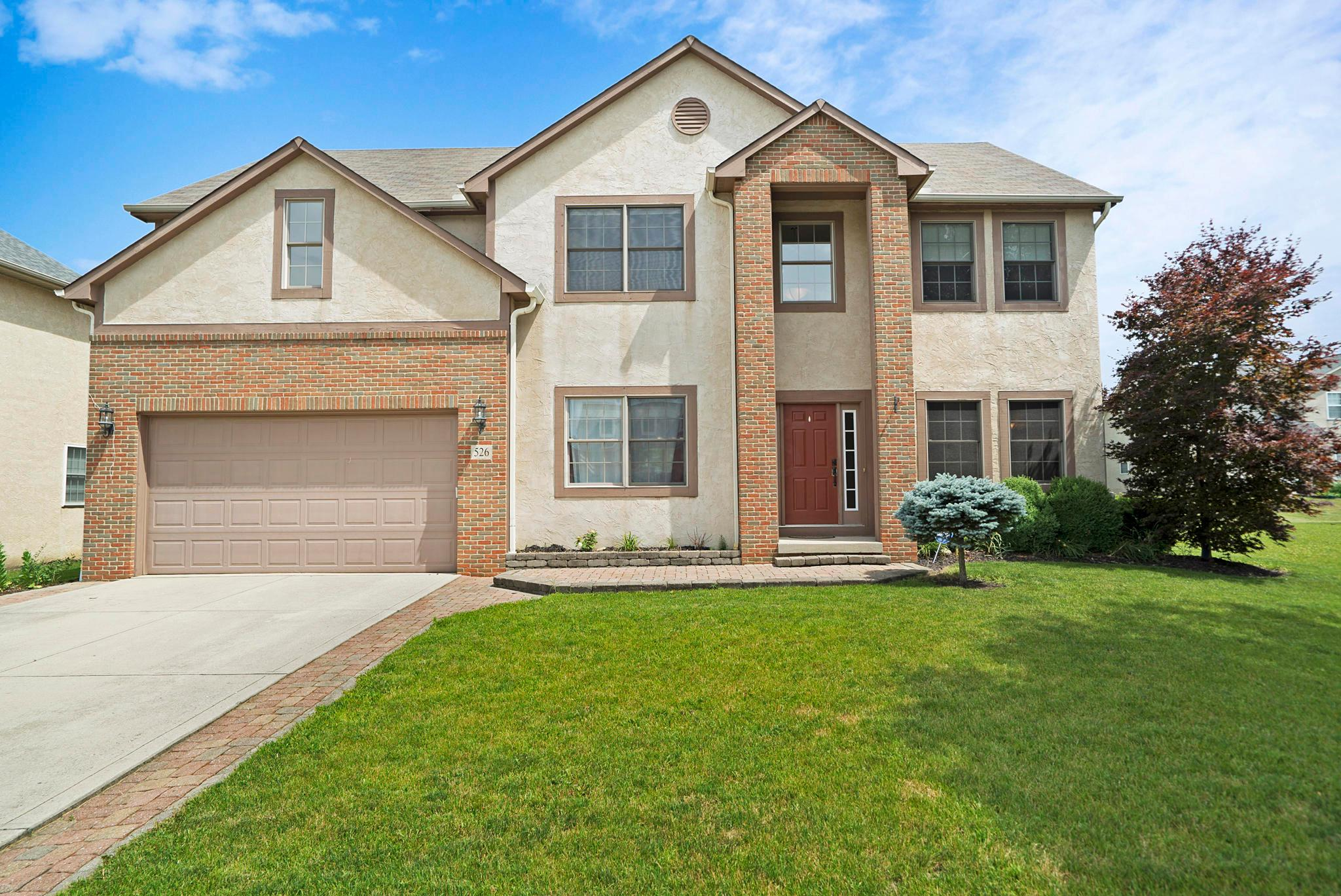 Photo of home for sale at 526 Bellfrey Court, Westerville OH