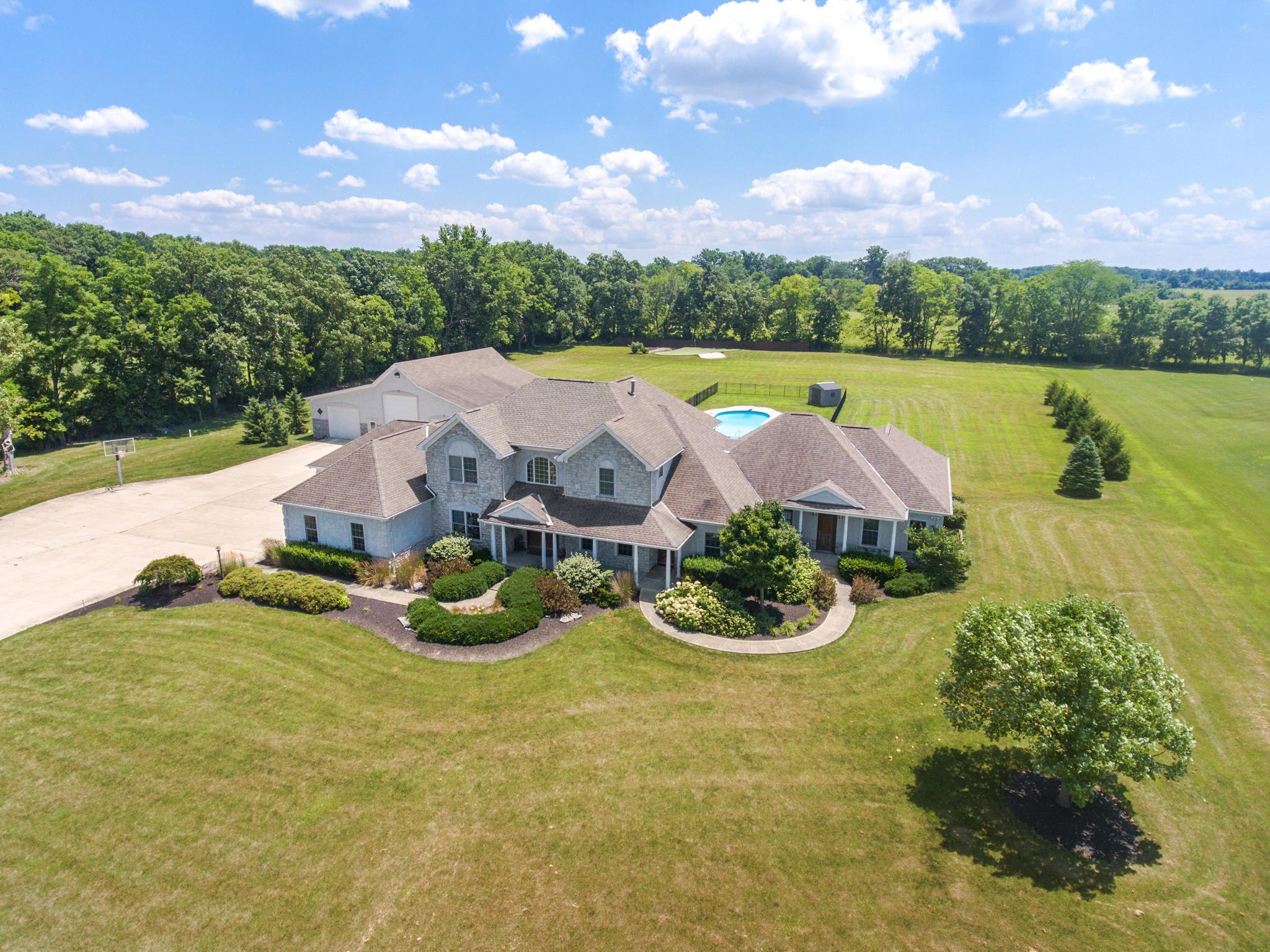 Photo of home for sale at 8819 Morris Road, Hilliard OH
