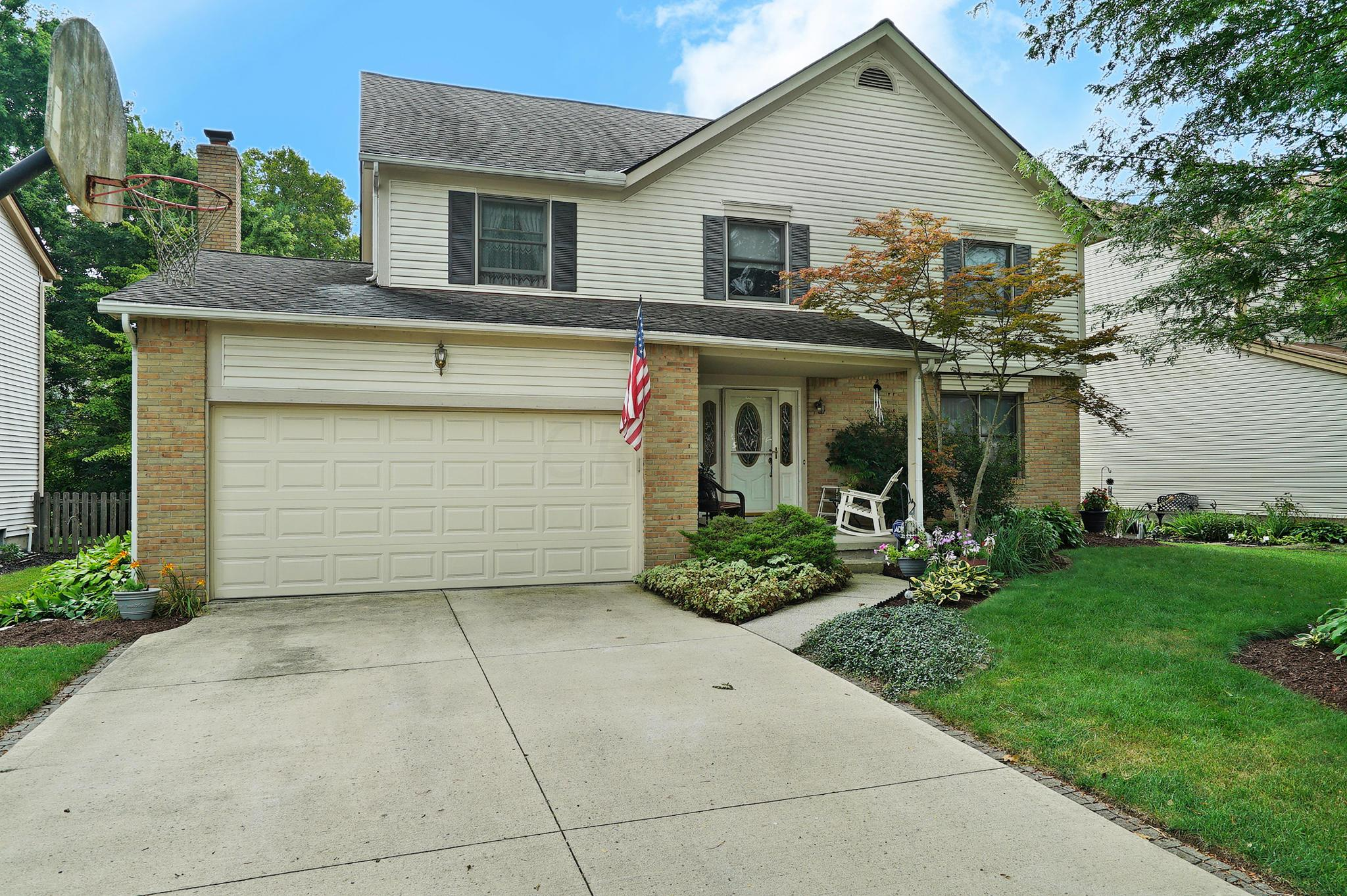 Photo of home for sale at 7958 Stanburn Road, Dublin OH
