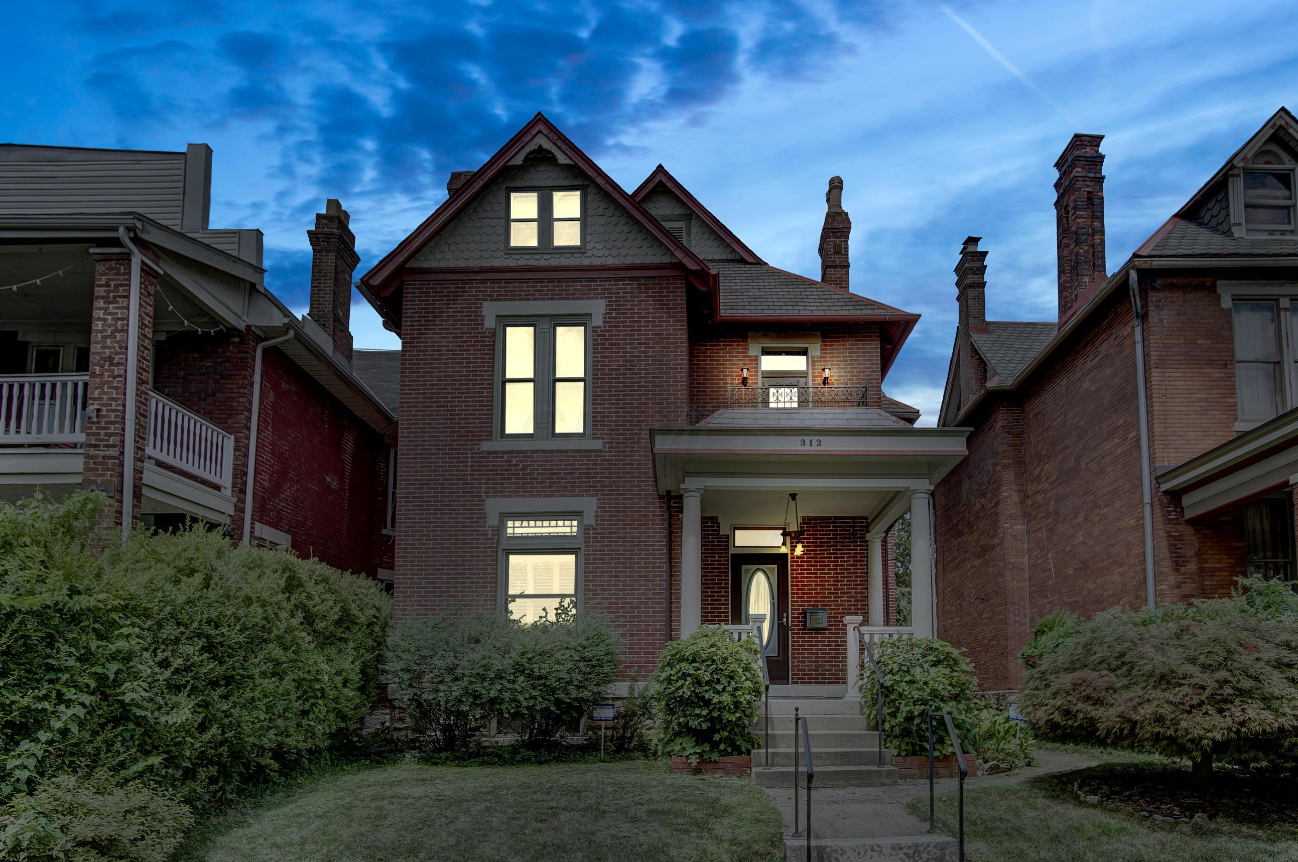 Photo of home for sale at 312 Hubbard Avenue W, Columbus OH