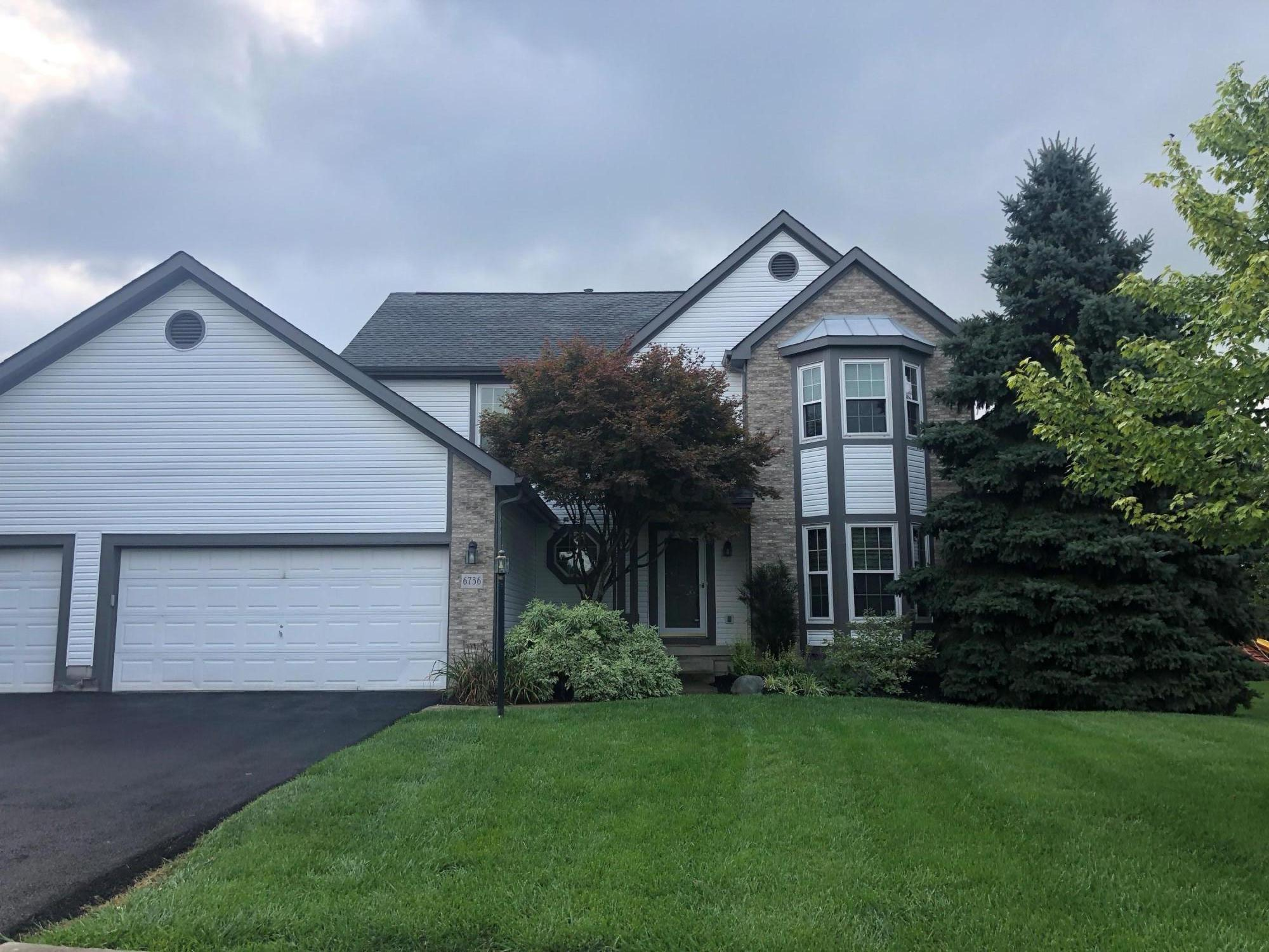 Photo of home for sale at 6736 Oak Shadow Drive, Westerville OH