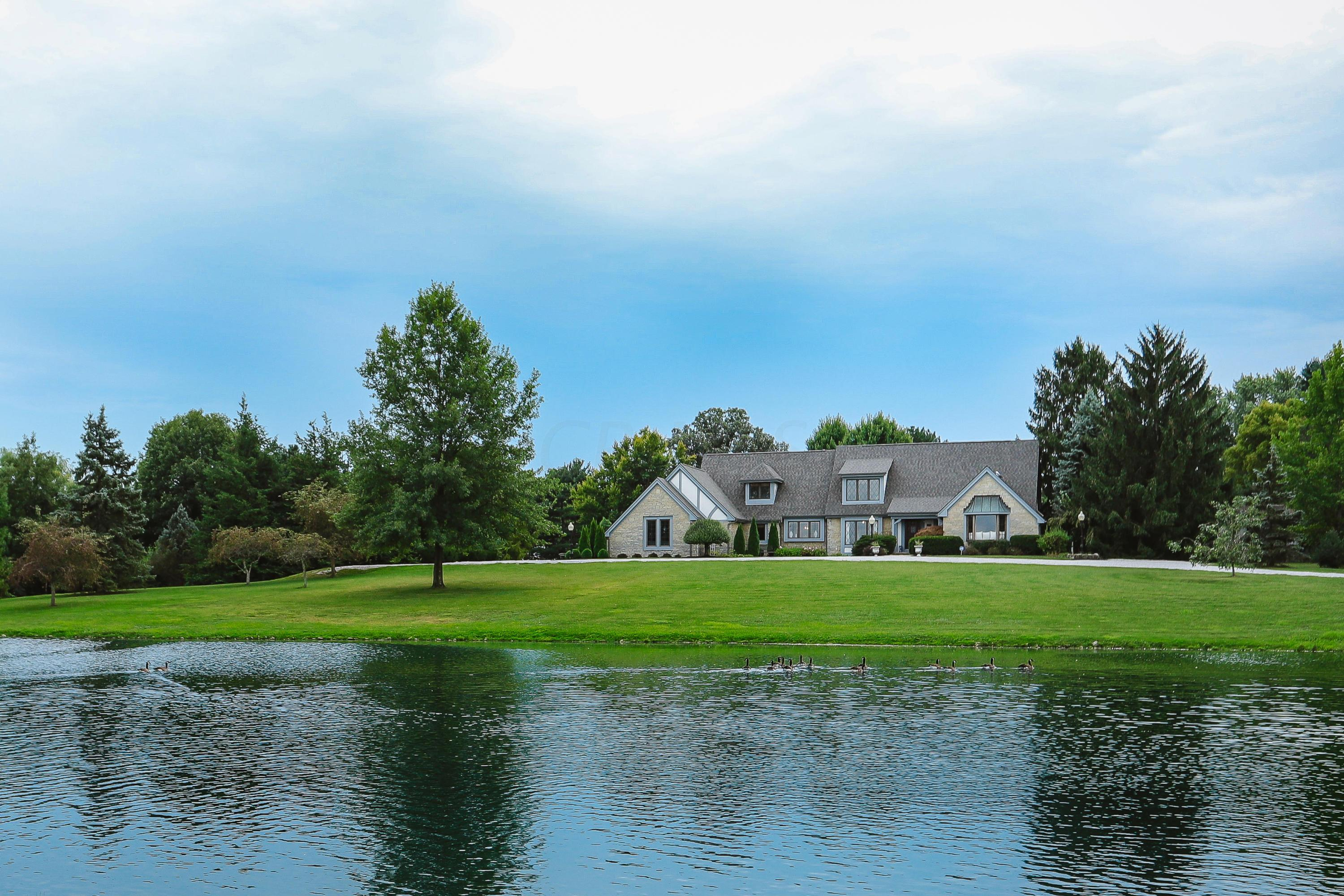 Photo of home for sale at 10255 Slough Road NW, Canal Winchester OH