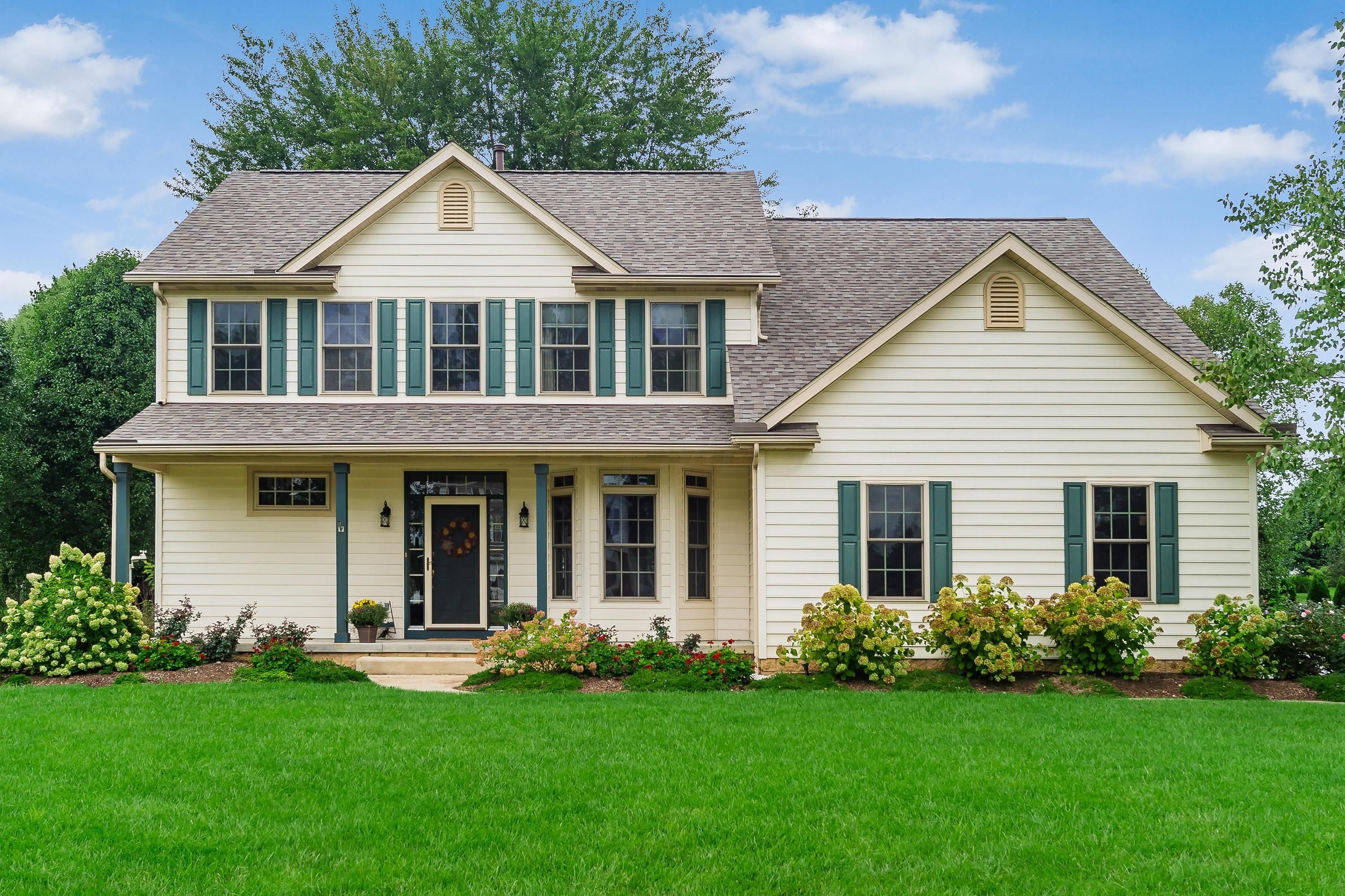Photo of home for sale at 6962 Whitetail Lane, Westerville OH
