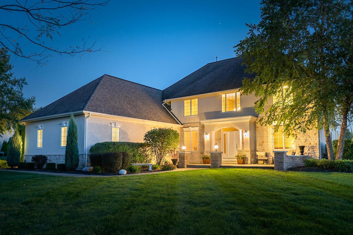 Photo of home for sale at 8484 Creighton Drive, Powell OH