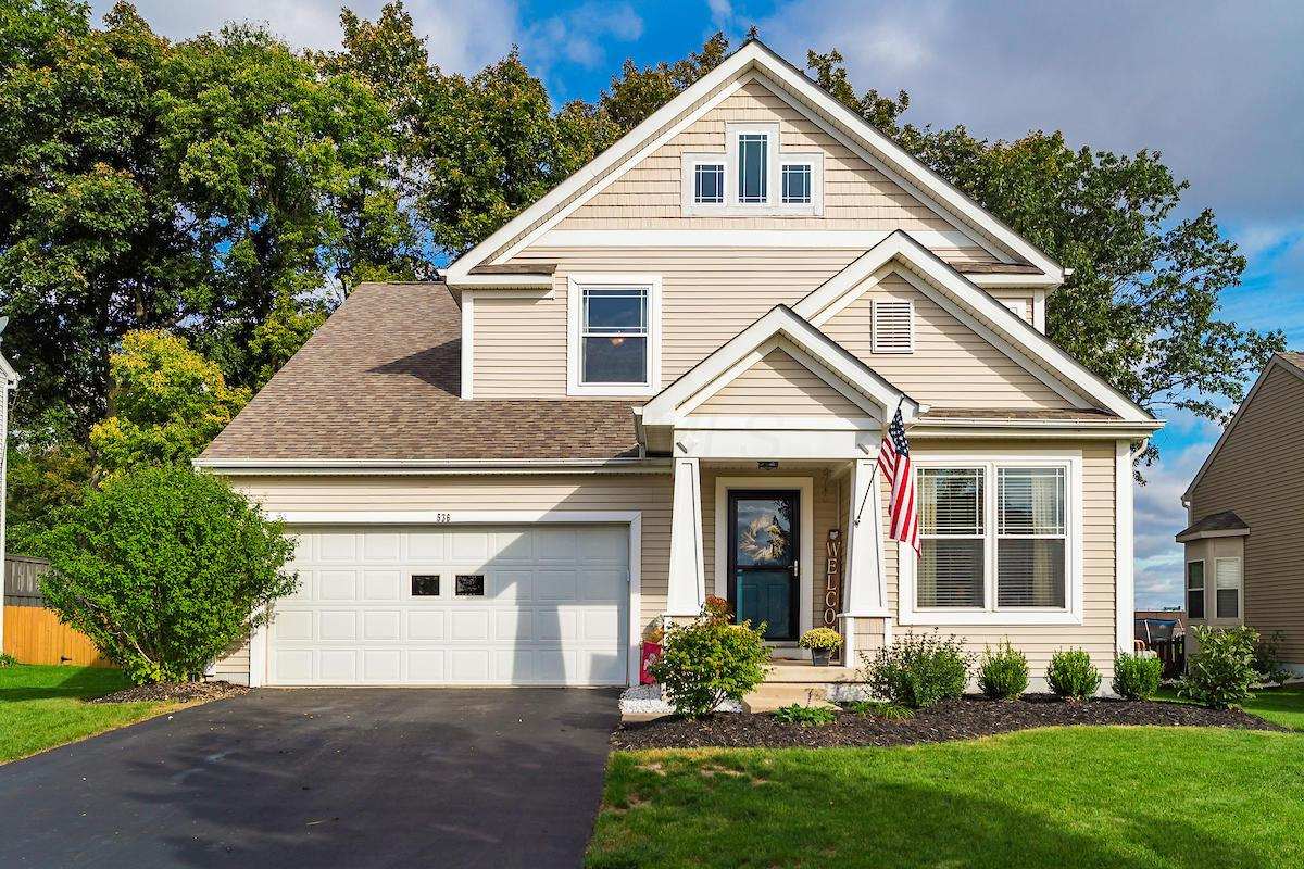 Photo of home for sale at 536 Black Hawk Drive, Marysville OH