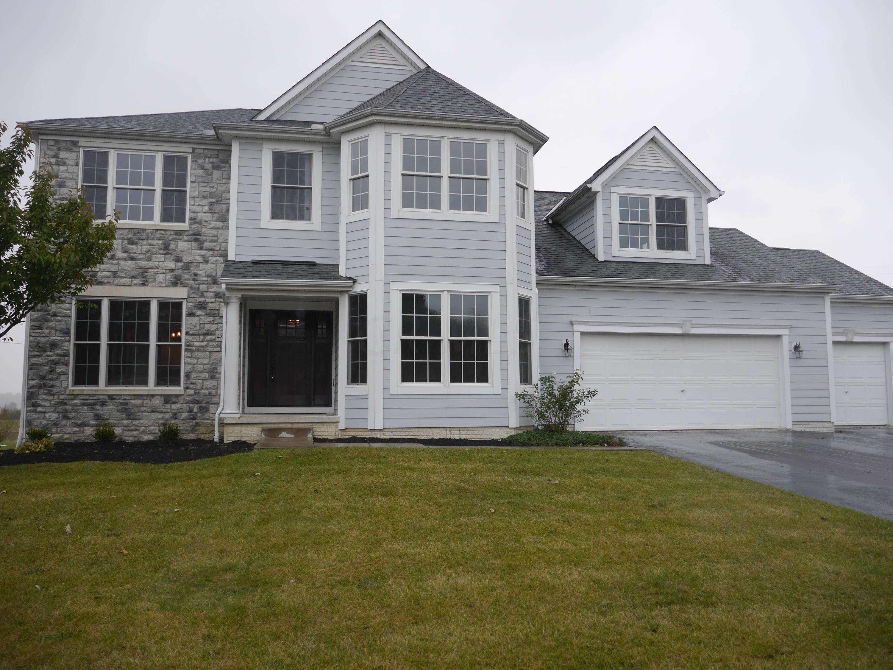 Photo of home for sale at 4897 Barbeau Lane, Hilliard OH