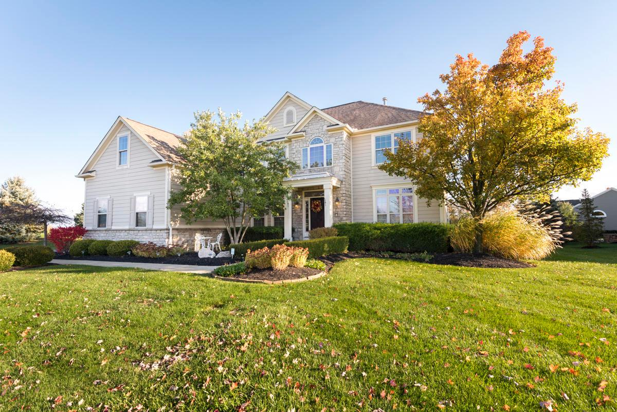 Photo of home for sale at 3512 Village Club Drive, Powell OH