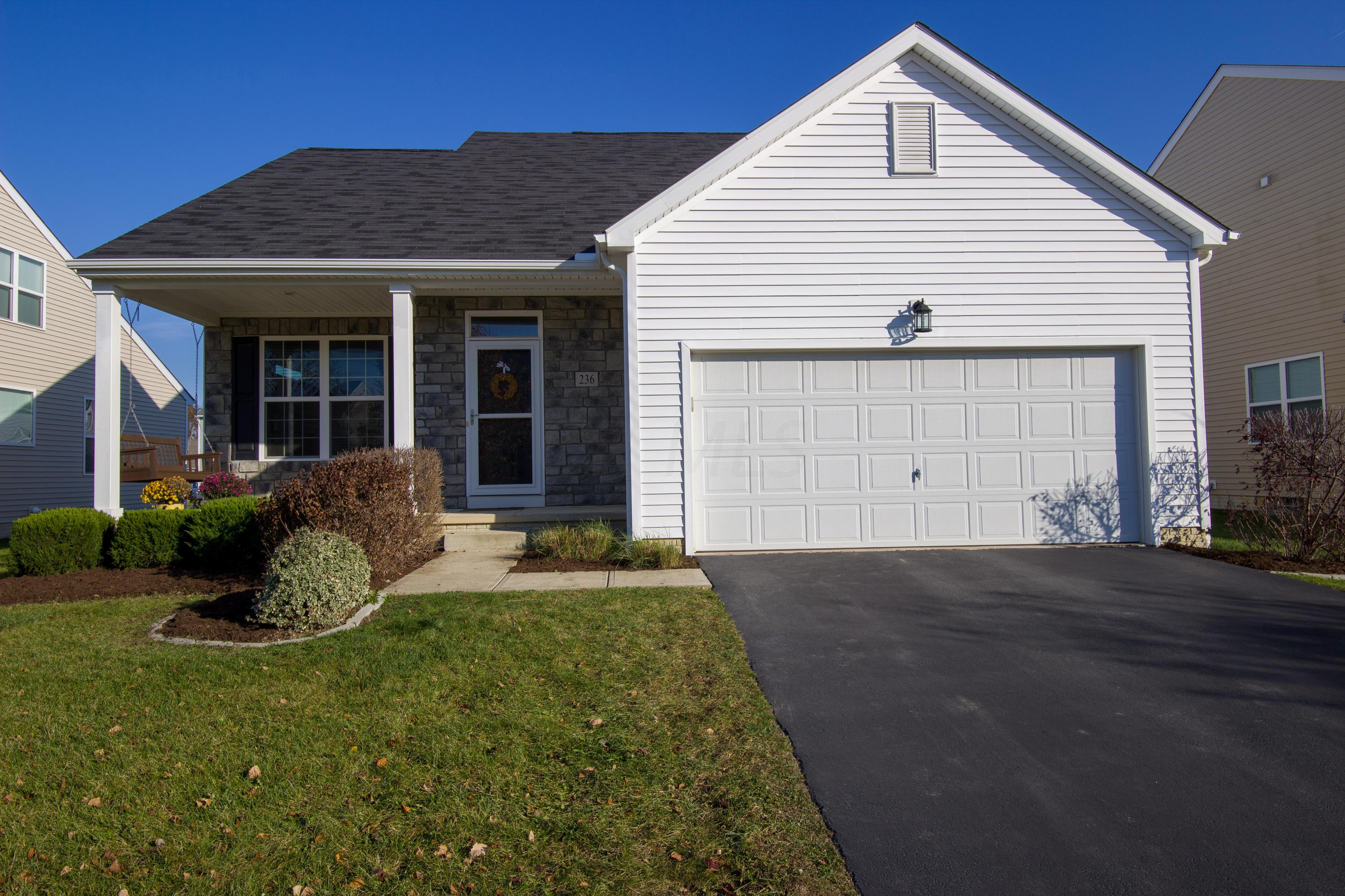 Photo of home for sale at 236 Whitewater Court, Delaware OH